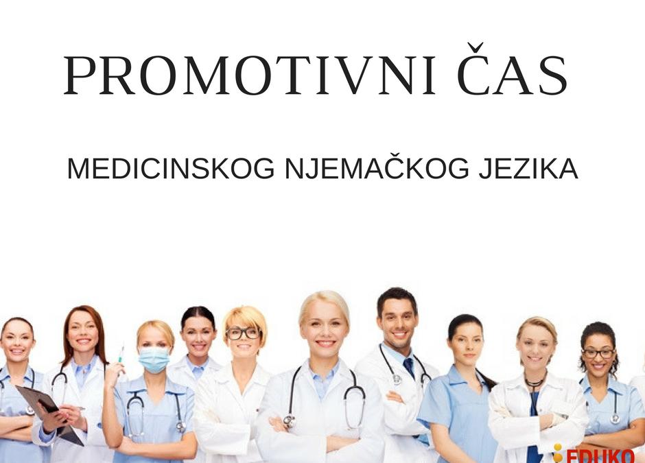 Besplatan čas njemačkog jezika za medicinare
